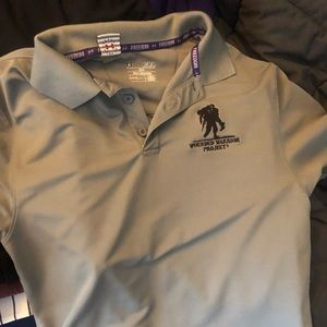 Under Armor wounded warrior project polo